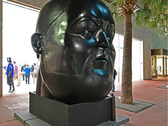 Fernando Botero Ausstellung Lincoln Road Miami