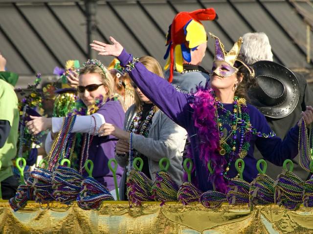 Mard Gras Parade Pensacola