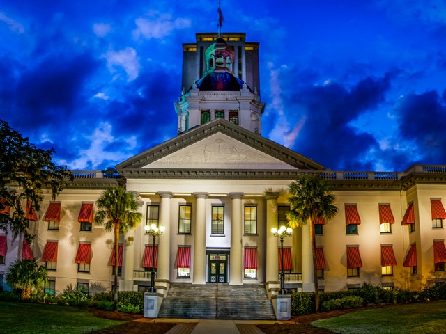 Florida State Capitol in Tallahassee