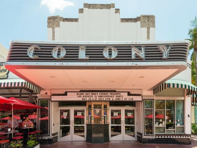 Colony Theatre an der Lincoln Road in Miami Beach