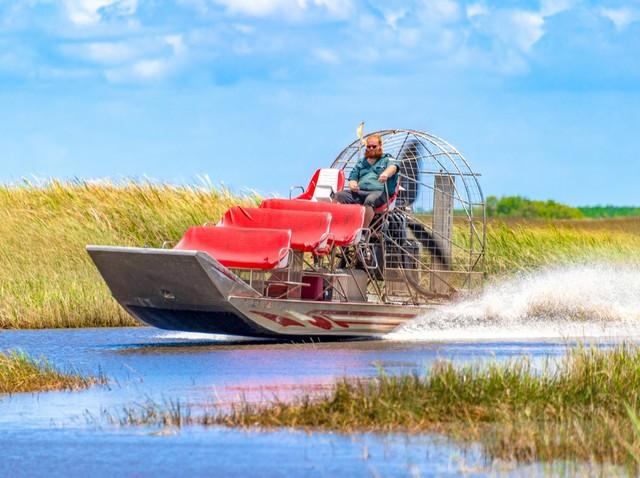 Sumpfboottour durch die Everglades (Foto © BobNoah/Shutterstock.com)