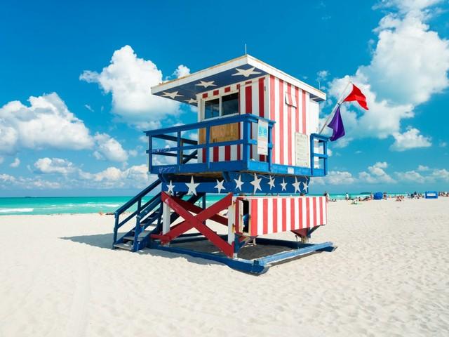 Strandwächterhäuschen in South Beach