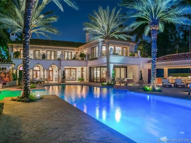 Die neue Villa von Jennifer Lopez und Alex Rodríguez auf Star Island