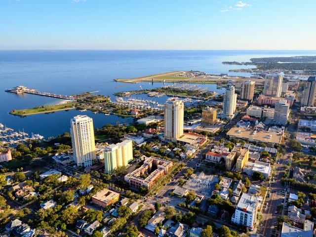 St. Petersburg an der Tampa Bay