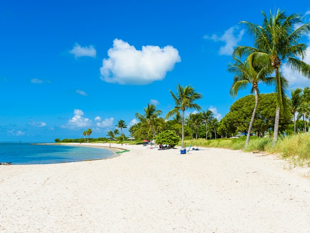 Sombrero Beach auf Marathon - Florida Keys