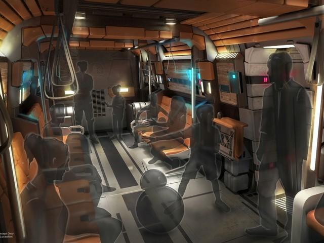 """""""Star Wars: Galactic Starcruiser"""", Inneres des Raumschiffs"""