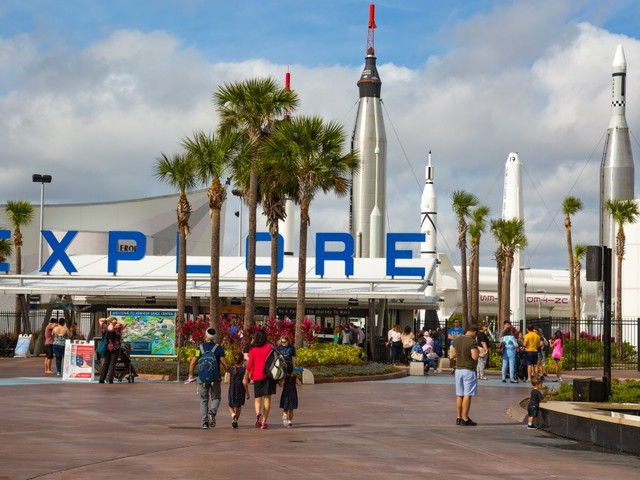 Kennedy Space Center, Eingang
