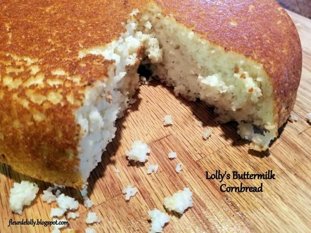 Buttermilch-Maisbrot