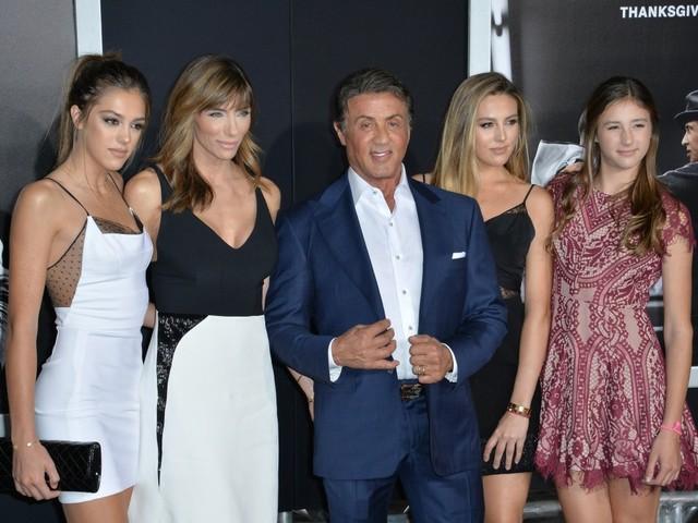 Sylvester Stallone und Familie (Foto © Jaguar PS/Shutterstock.com)