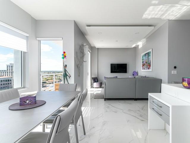 Apartment Tower 155 Wohnzimmer