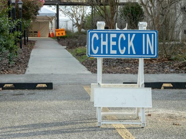 Impfzentrum im Clay County