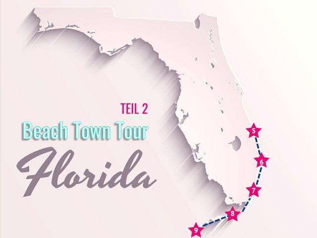 Küstenstadttour 2: Vero Beach bis Key West