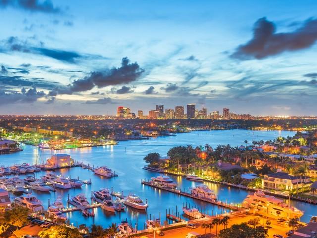 Fort Lauderdale und New River