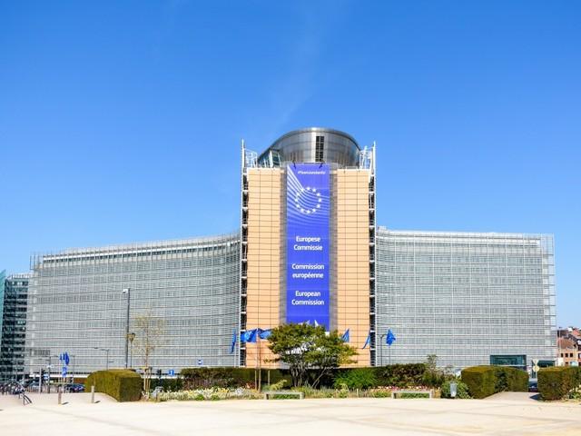 Berlaymont-Gebäude, Sitz der EU Kommission in Brüssel