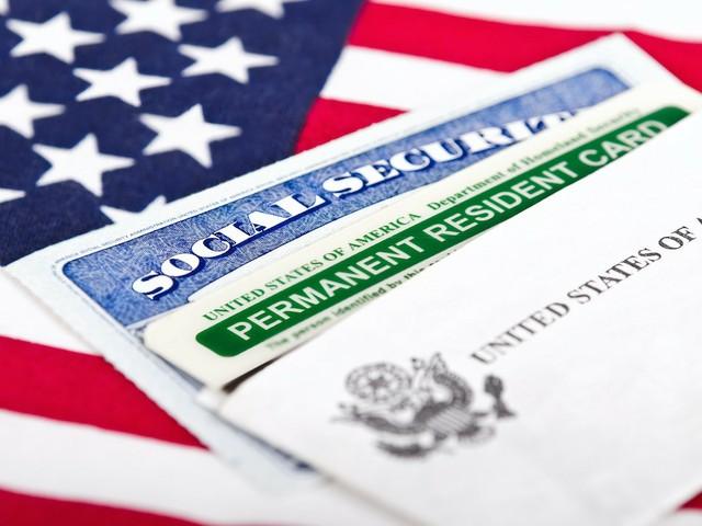 Greencard und US-Sozialversicherungskarte