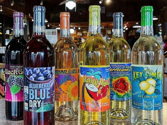 Exotische Weine in der Florida Orange Grove Winery