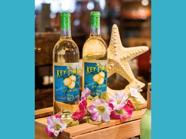 Key Lime Wein in der Florida Orange Groves Winery